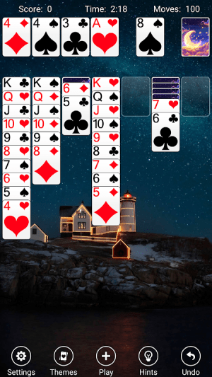 Solitaire 4.9 Screen 1