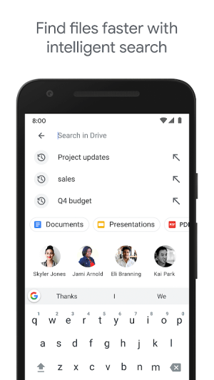 Google Drive 2.20.491.03.45 Screen 8