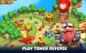 Wild Sky TD: Tower Defence in 3D Fantasy Kingdom 1.31.15 Screen 8