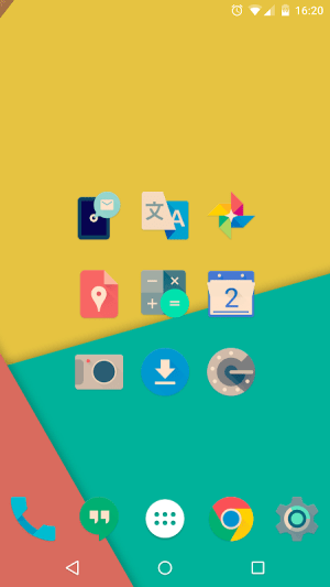 Android Iride UI is Hipster Icon Pack Screen 7
