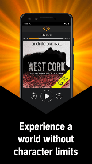 Audible - Audiobooks and original series 2.48.0 Screen 4