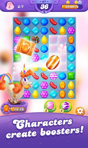 Candy Crush Friends Saga 1.18.7 Screen 2