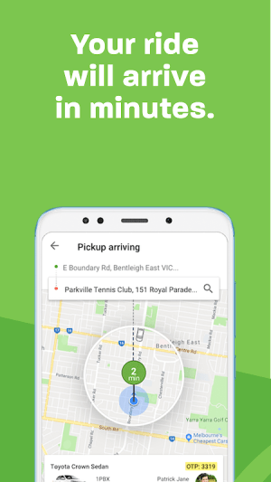 Ola. Get rides on-demand 4.9.3 Screen 2