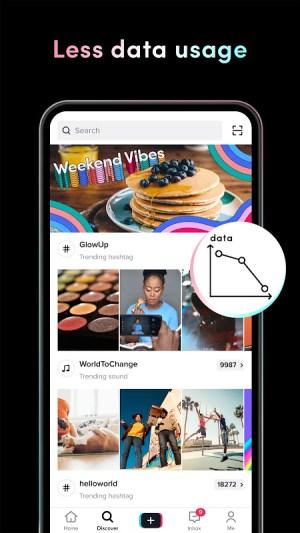 Android TikTok Lite Screen 2