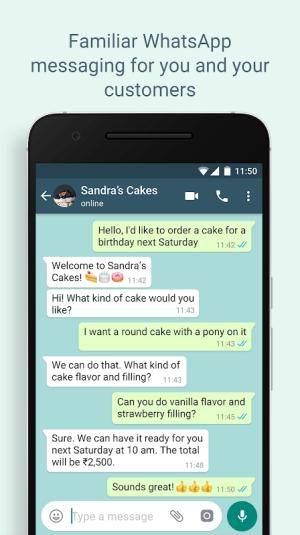 WhatsApp Business 2.21.9.13 Screen 3