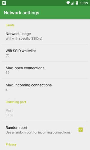 tTorrent - ad free 1.6.6 Screen 6