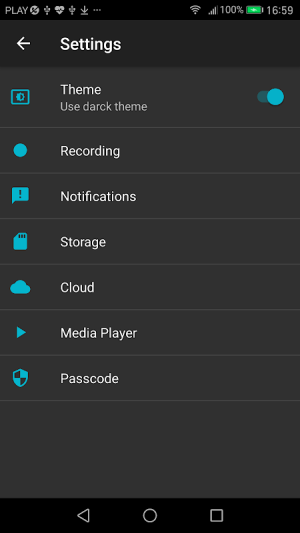 Android Call Recorder Screen 2