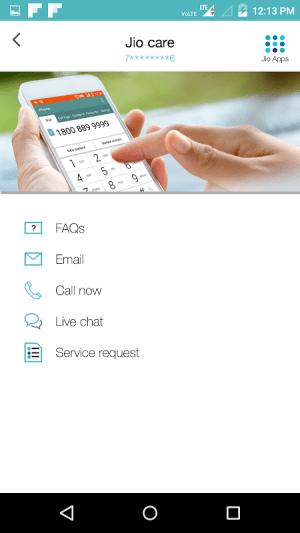 MyJio 3.2.13 Screen 5