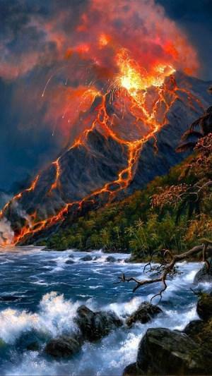 Volcanoes Live Wallpaper 1.4 Screen 1