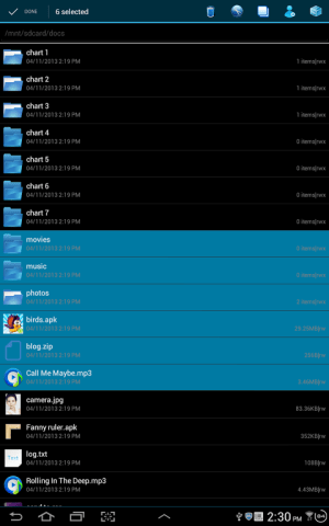 File Explorer 3.2.1 Screen 2