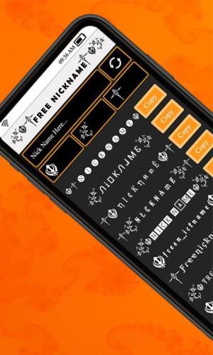 Nickname Generator Free Fonts: Name Creator Symbol 5.0.1.8 Screen 1