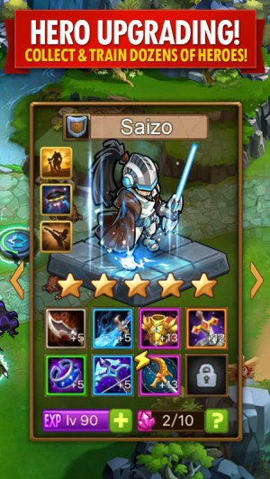 Android Magic Rush: Heroes Screen 2