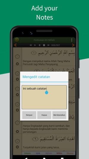 Al'Quran Bahasa Indonesia 4.5.6c Screen 3