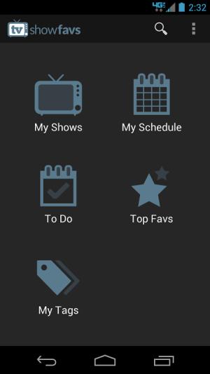 TV Show Favs 4.0.0 Screen 6