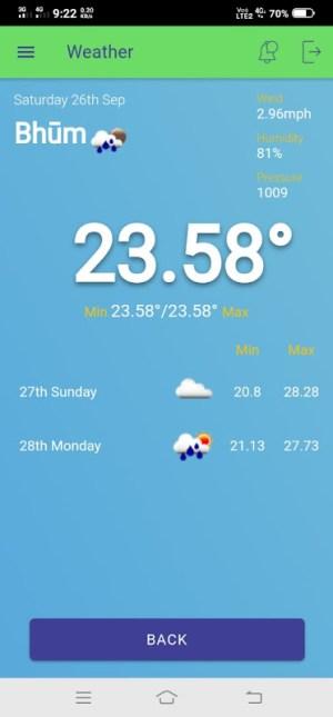 Sampark Mobile App 2.1.2 Screen 5