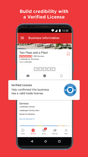 Yelp for Business Owners 20.36.0-21203619 Screen 6