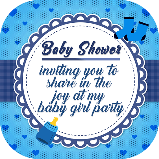 Baby Shower Invitation Card Maker 2 0 Apk Download By Miles