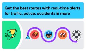 Waze - GPS, Maps, Traffic Alerts & Sat Nav 4.69.4.920 Screen 6