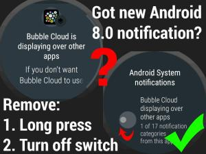 Bubble Cloud Tile Launcher Watchface (WearOS) 9.70 Screen 22