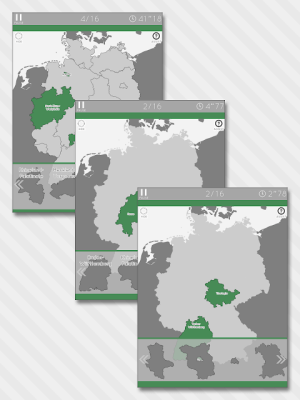 Enjoy Learning Germany Map Puzzle 3.3.1 Screen 6