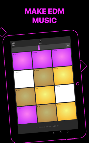 Android Electro Drum Pads 24 - Music & Beat Maker Screen 6