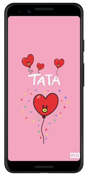 Android BT21 HD Wallpapers and Backgrounds Screen 2