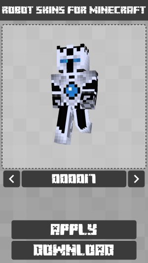 Robot Skins for Minecraft PE 1.0.8.060 Screen 4