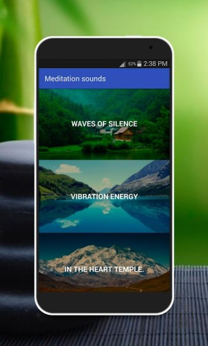 Android Music for Meditation Screen 1
