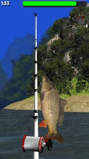 Big River Fishing 3D 1.01 Screen 2