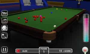 Android Snooker Knockout Tournament Screen 6