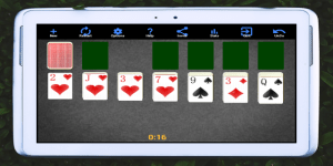 Android Solitaire Screen 2
