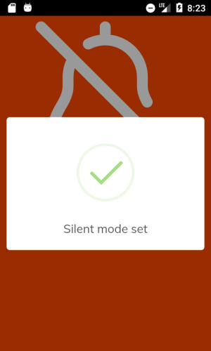 Android Silent Mode 🔕 Screen 7