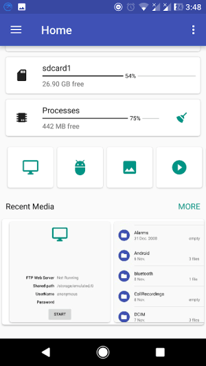 Android FS File Explorer File Manager Screen 5