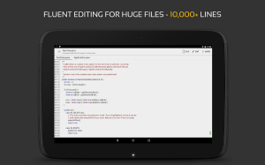 QuickEdit Text Editor Pro - Writer & Code Editor 1.5.1 Screen 9