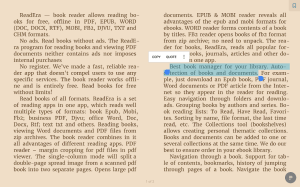 ReadEra - book reader pdf, epub, word 19.11.05+1020 Screen 2
