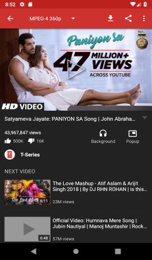 YouTube Video Downloader SnappTube 16.22 Screen 3