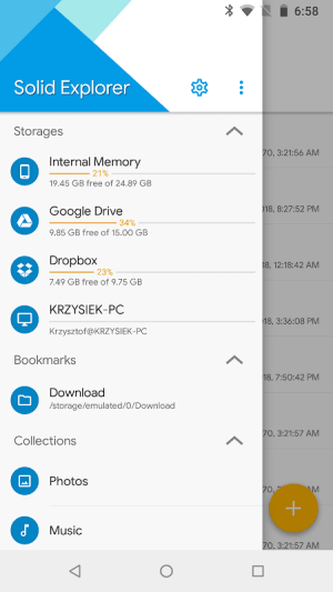 Solid Explorer File Manager 2.7.13 Screen 8