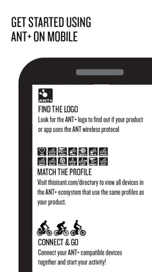 Android ANT+ Plugins Service Screen 1