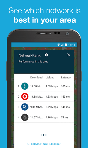 Android Speed Test & 3G 4G WiFi Maps Screen 4