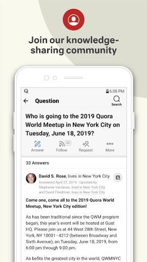 Quora — Ask Questions, Get Answers 3.0.27 Screen 5
