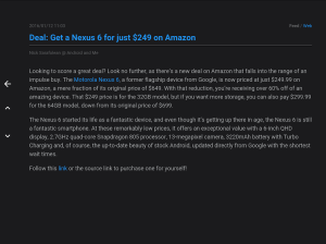 FeedMe (RSS Reader | Podcast) 3.9.4 Screen 12
