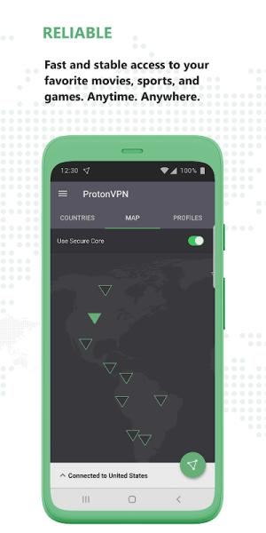 Proton VPN - Free VPN, Secure & Unlimited 2.7.56.1 Screen 3