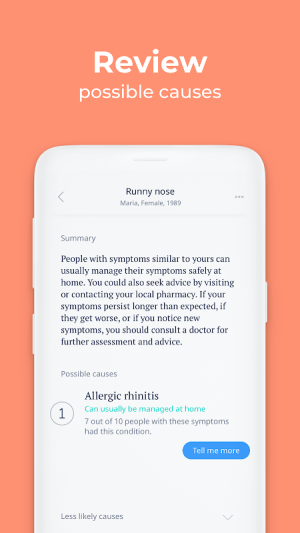 Ada – your health companion 3.0.2 Screen 4