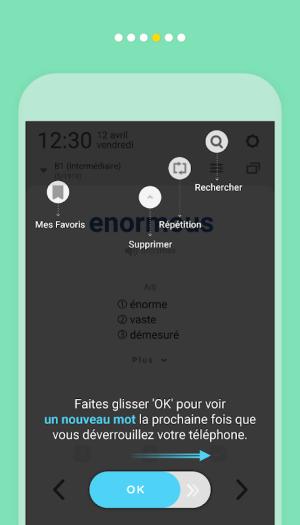 WordBit Anglais (mémorisation automatique ) 1.3.8.84 Screen 2