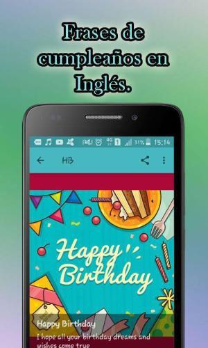 Android Feliz Cumpleaños Screen 3
