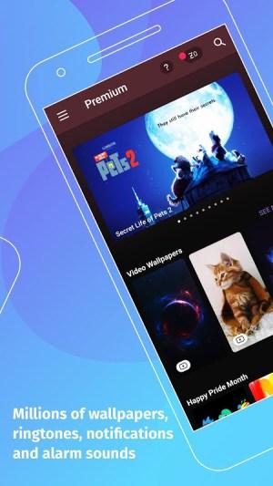 Android ZEDGE™ Wallpapers & Ringtones Screen 6