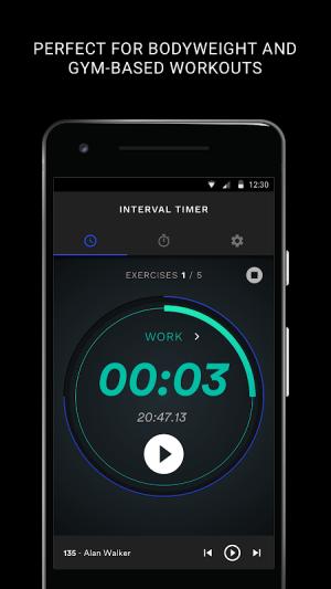 JY Fitness Timer 1.1.4 Screen 1