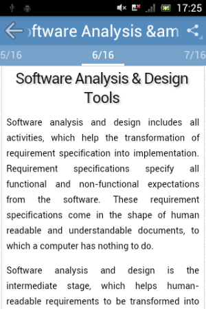 Android Software Engineering Screen 3