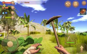 Android The Survival: Island adventure 3D Screen 2