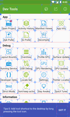 Dev Tools(Android Developer Tools) 4.0.1 Screen 4